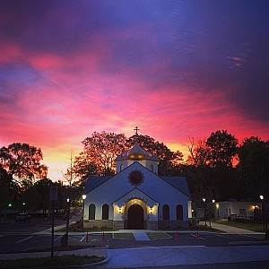 The Paschal Sunrise!